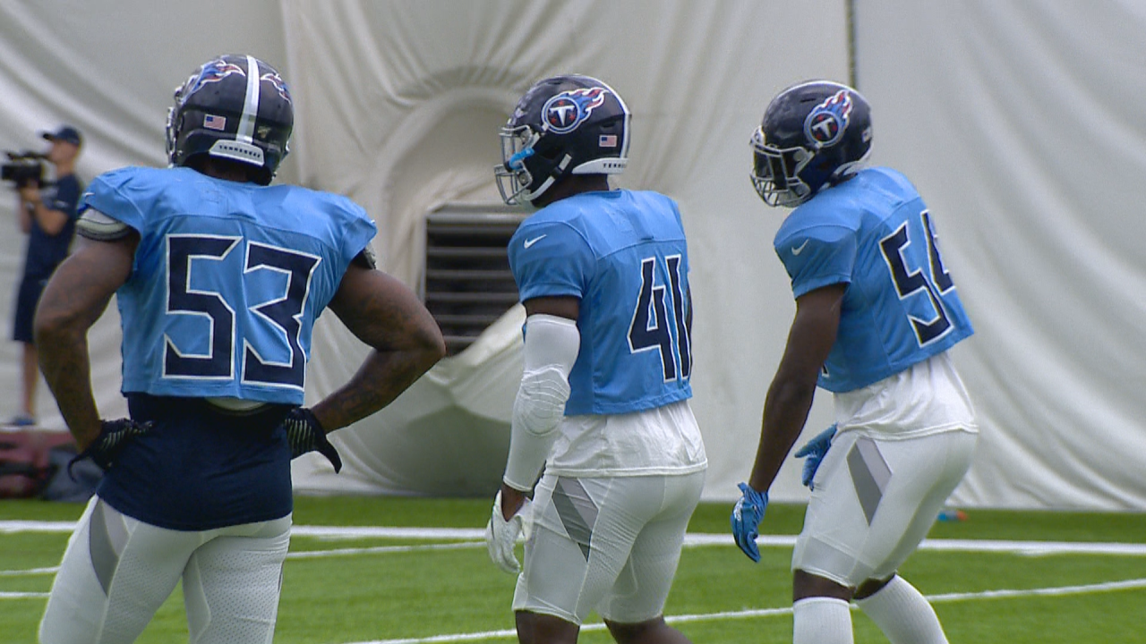 titans training camp 8-12