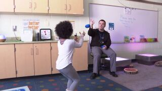The Mind Peace Room at Fairwood Elementary is helping misbehaving students calm down before situations escalate
