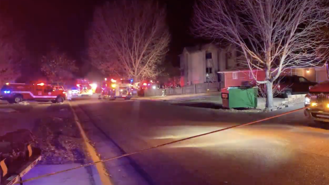 Jeffco apartment fire Reed Street