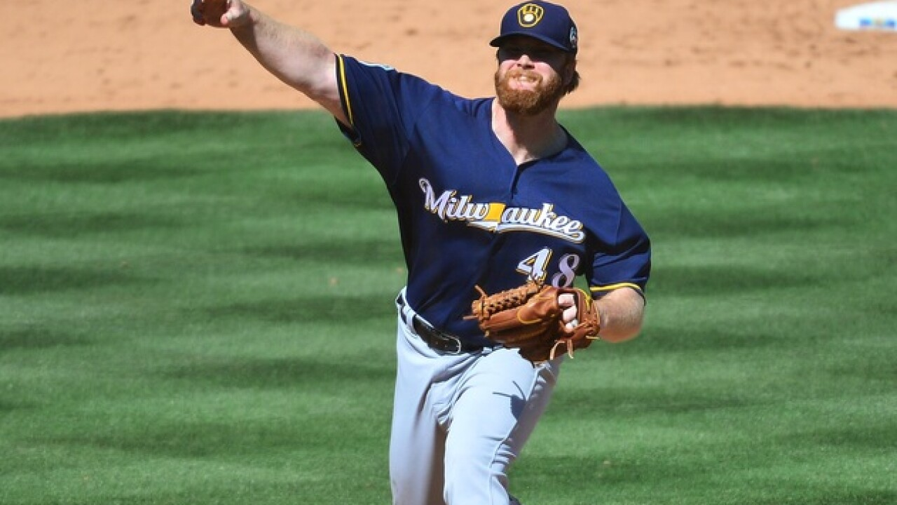 Brewers pitcher helped rescue sex slaves in Asia