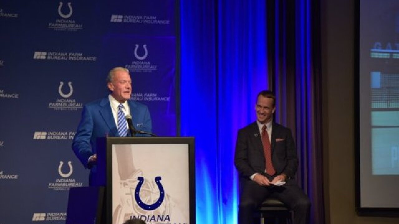 PHOTOS: Peyton comes back to Indy