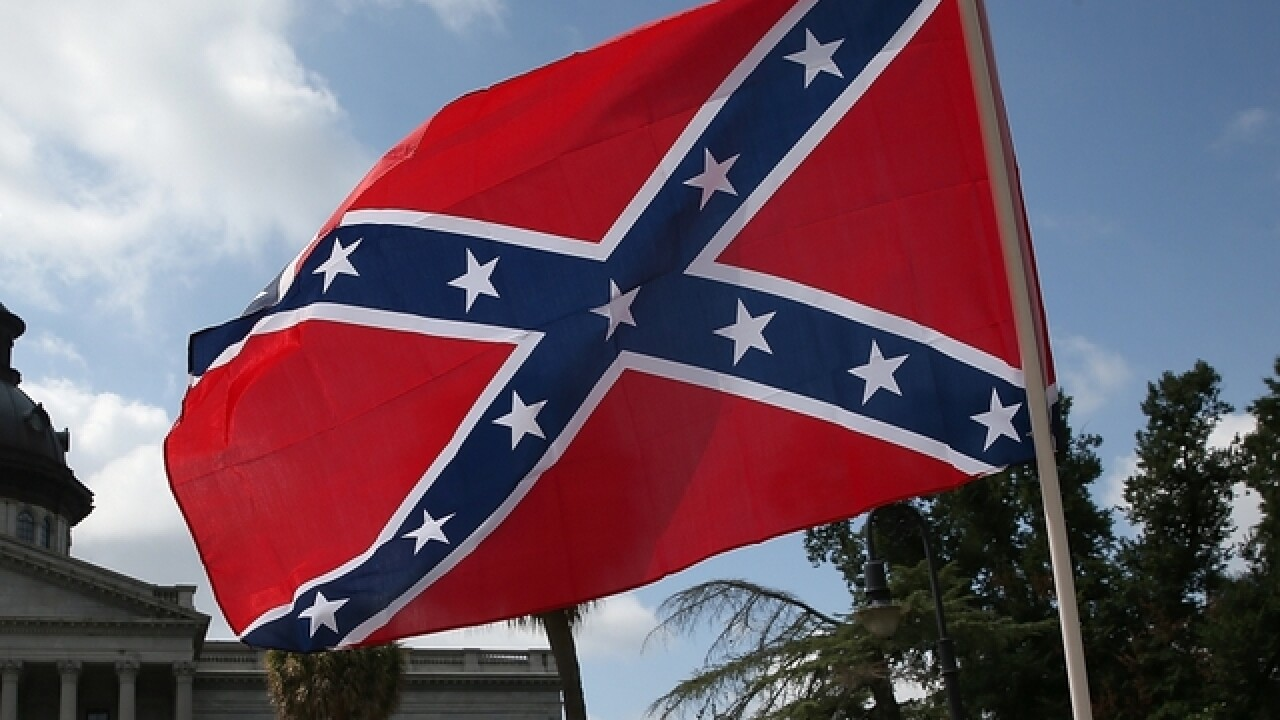 Teacher suspended for hanging Confederate flag in classroom