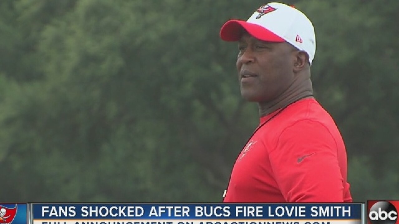 Fans' reactions to Lovie Smith firing