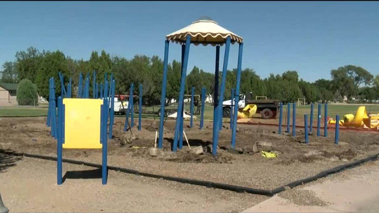 Belmont Elementary playground
