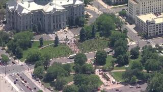 10,000 or more people expected in 3rd day of protests for George Floyd in downtown Denver