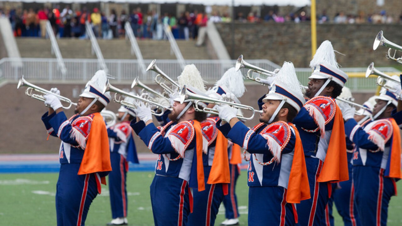 Morgan State University's Magnificent Marching Band will