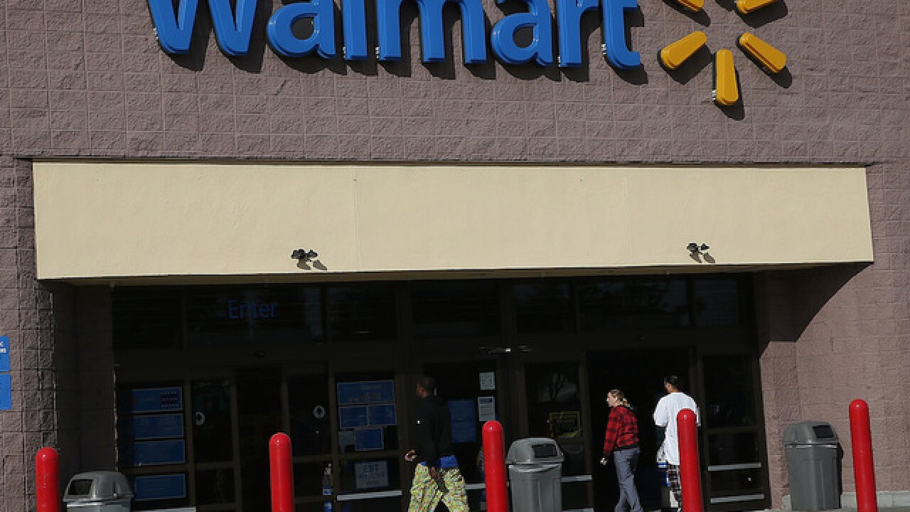 Dogs take car for joyride in West Virginia, crash into Walmart