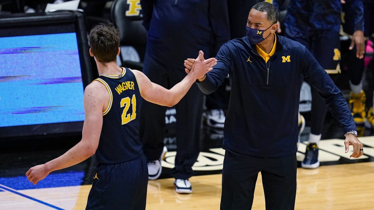 Juwan Howard, Franz Wagner Michigan Purdue Basketball