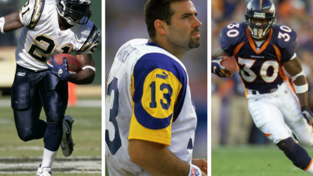 LaDanian Tomlinson, Kurt Warner among those selected to Pro Football Hall of Fame