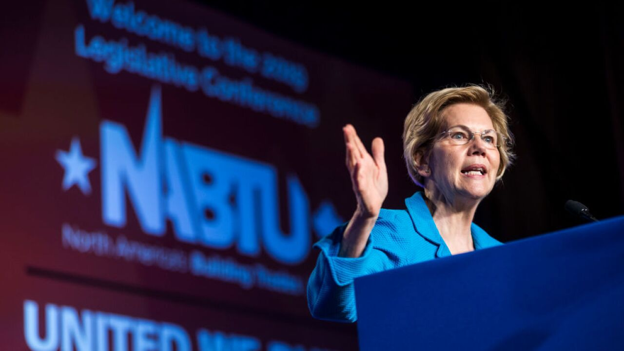 Elizabeth Warren releases sweeping student debt cancellation and free college plan