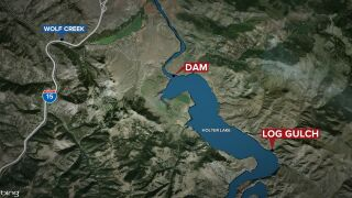 Part of Holter Lake closed due to fire-fighting efforts