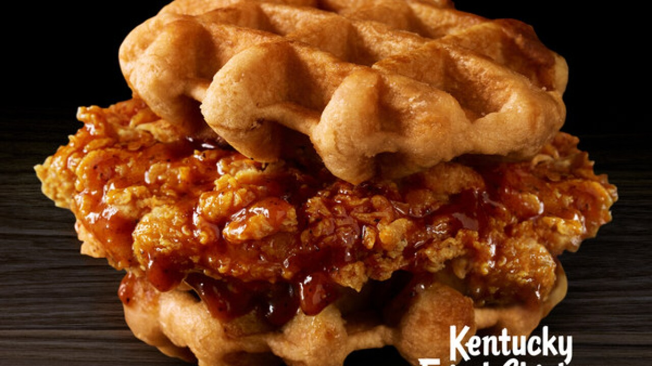 KFC is now serving chicken and waffles