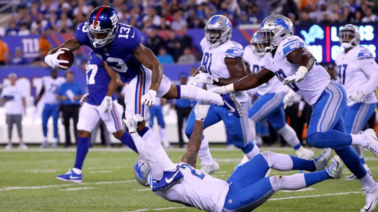 buy online 6db6e 72654 Report: Giants trade Odell Beckham Jr. to Browns for Jabrill ...