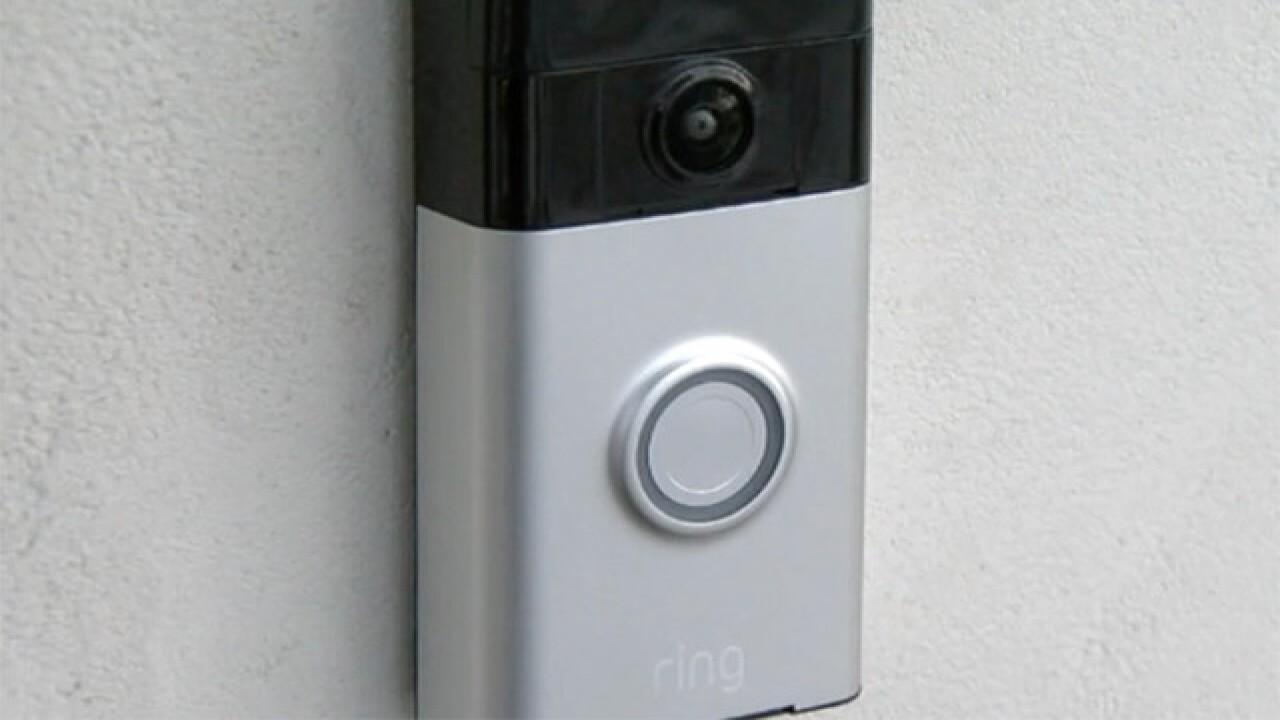 This doorbell sends video, audio to your phone