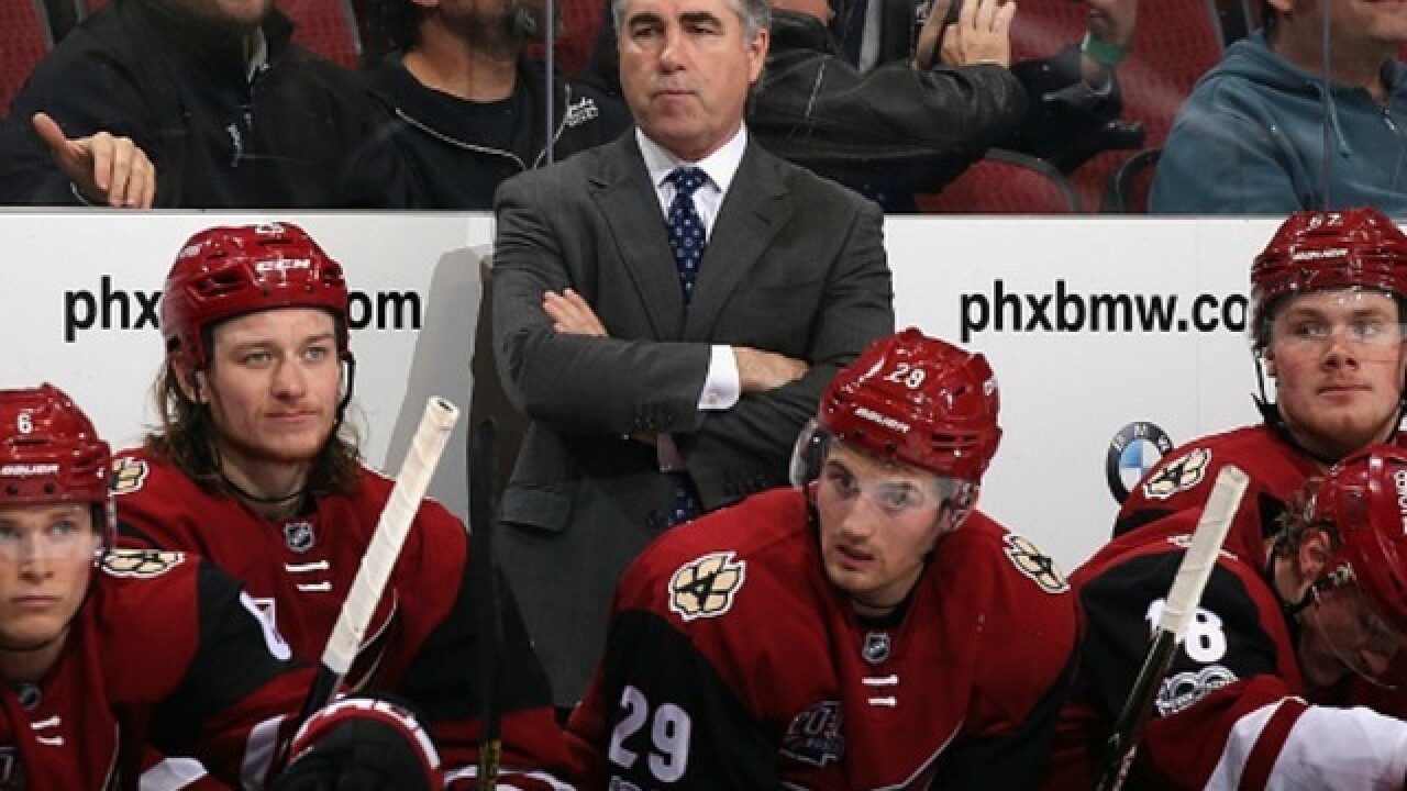 Coyotes and head coach Dave Tippett part ways