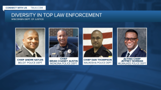 Four of Wisconsin's 12 African American Law Enforcement Leaders