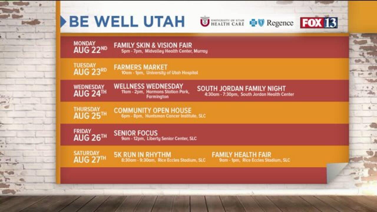 Family Health Week with Be WellUtah