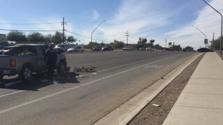 Police say 22-year-old Joseph Abdiel Santos-Nelson died from injuries he suffered in a crash near East 22nd Street and South Vista Overlook Drive.
