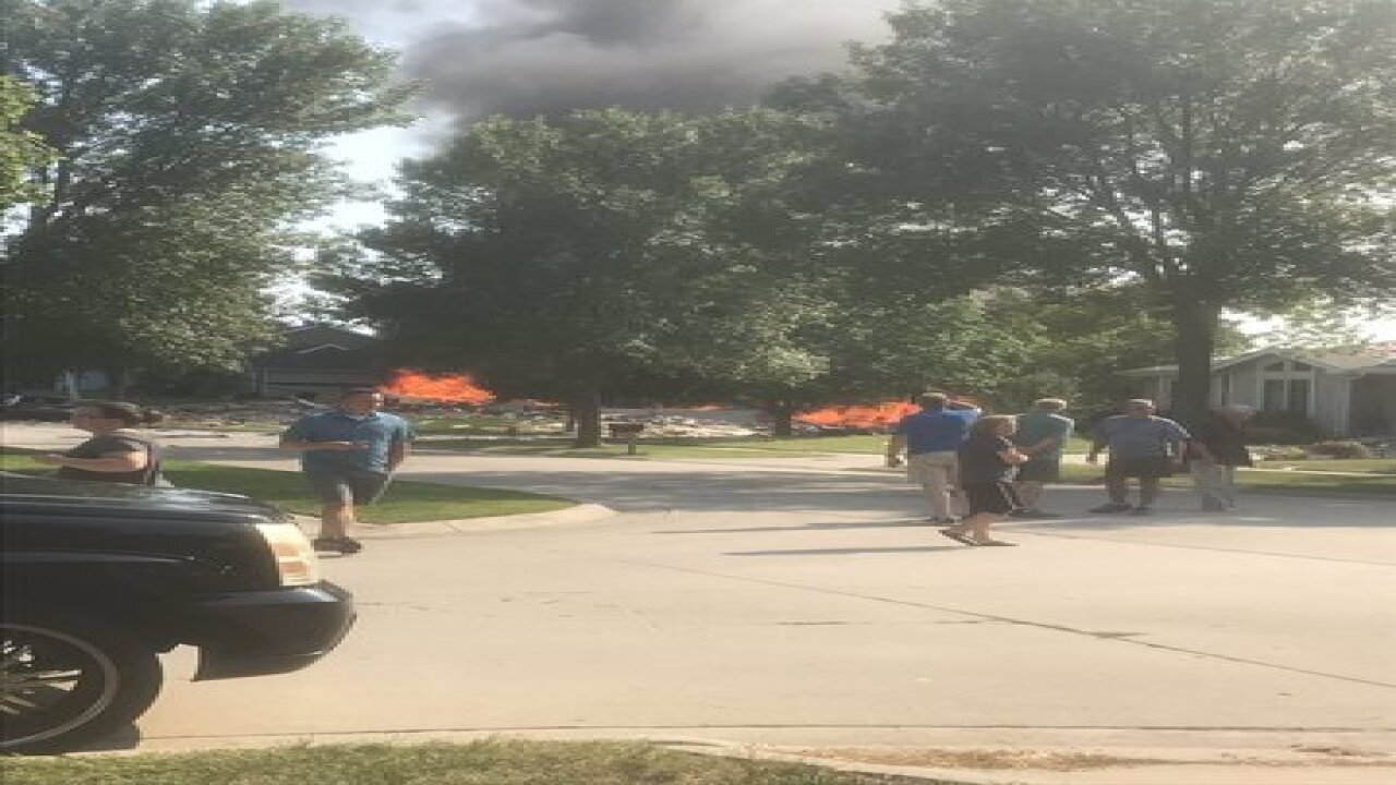 Large explosion reported in Lincoln
