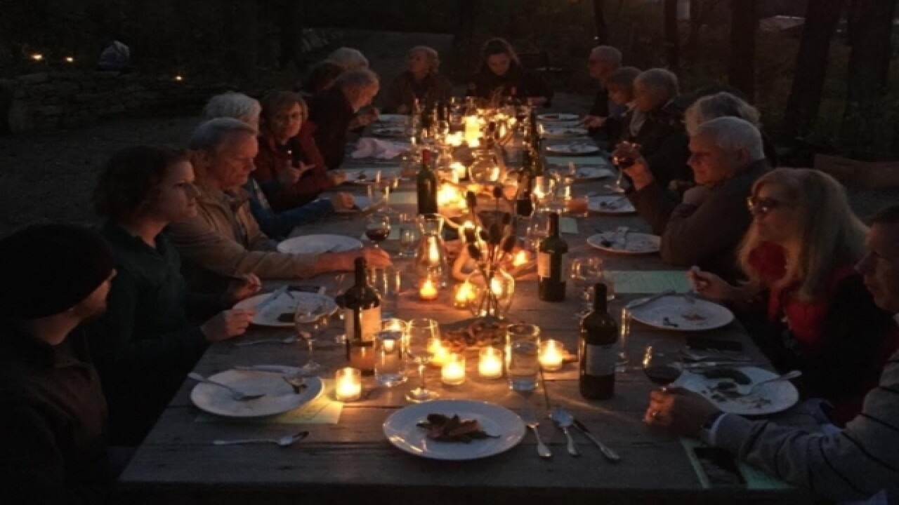 Dinner on the farm: As local as you can get