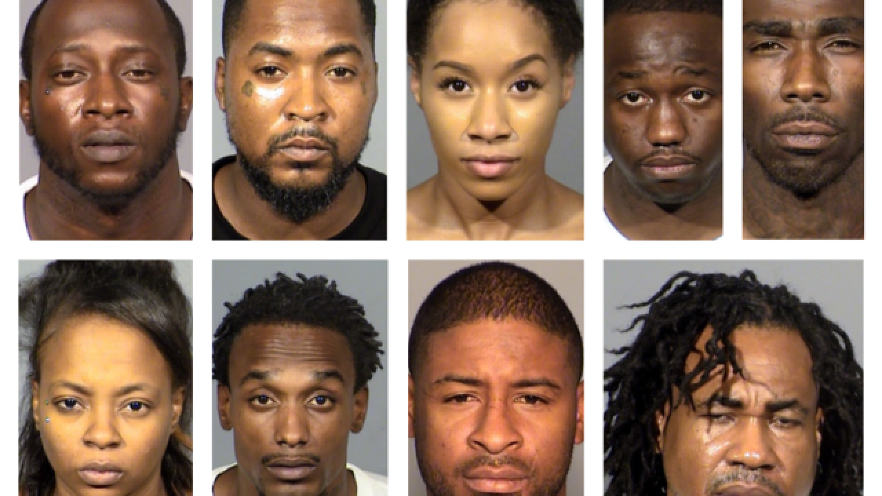 Gang members arrested at local casino