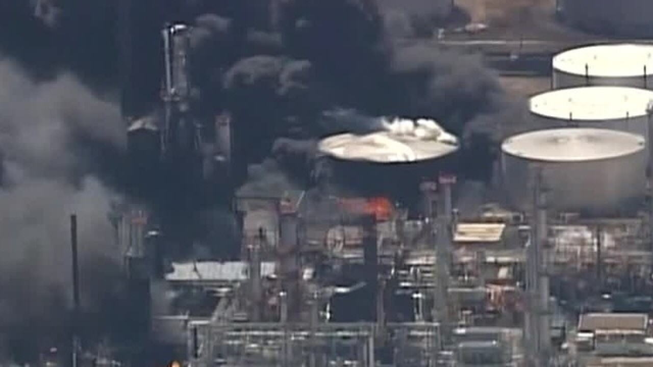 Multiple injuries in Superior refinery explosion