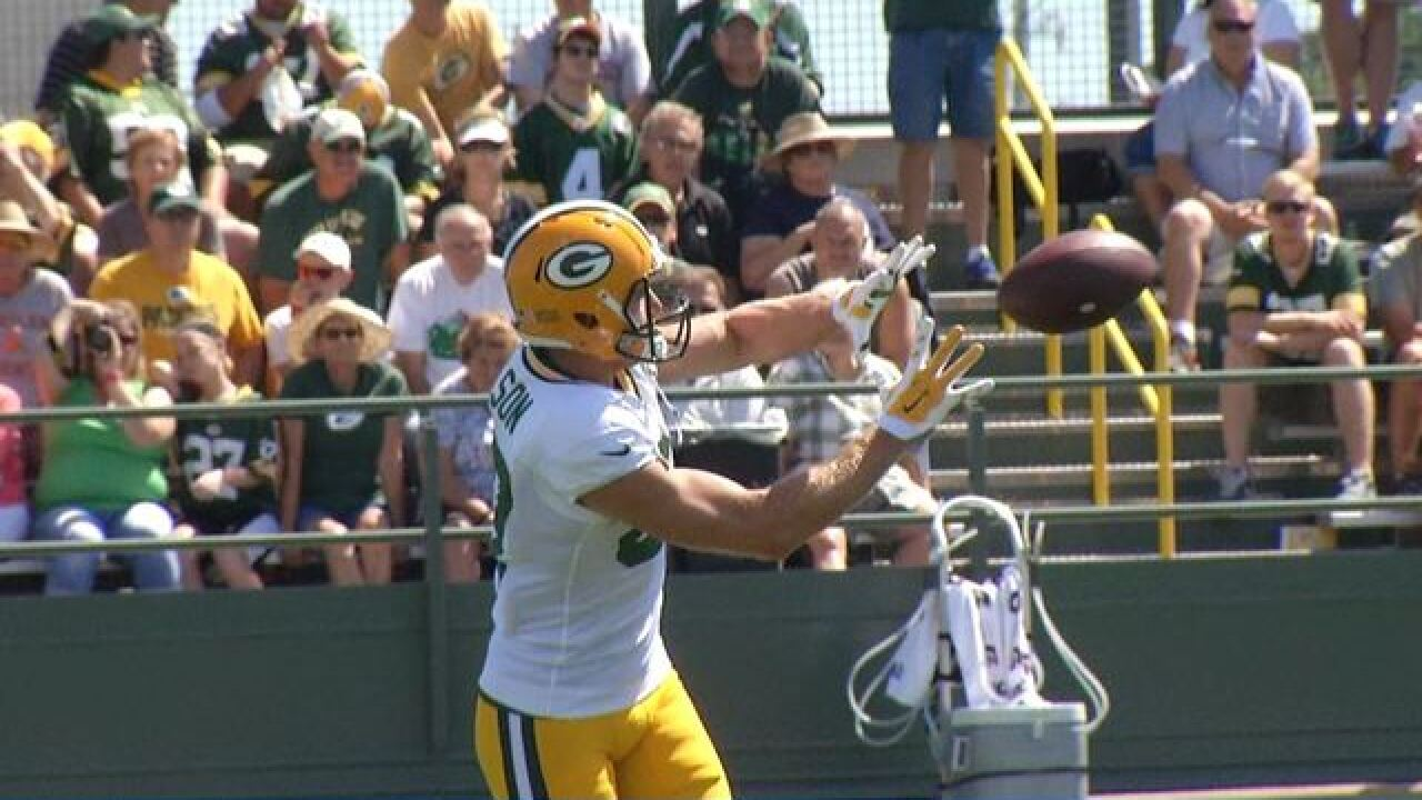 Nelson returns to practice field for Packers