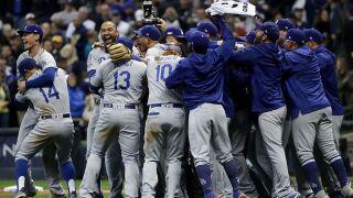 LA Dodgers down Milwaukee Brewers; Dodgers head to World Series