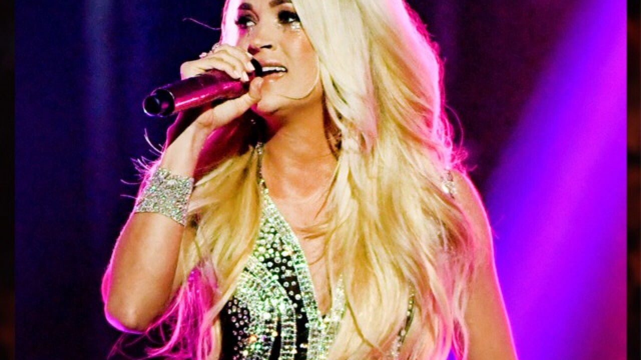 Carrie Underwood is first female country artist to have four No. 1 albums at top of all-genre charts