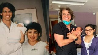 Doctor Delivers Baby 25 Years After Delivering Baby's Mom