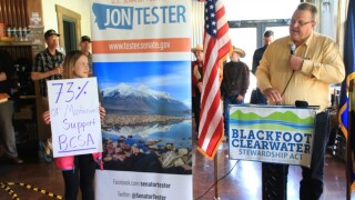 Tester takes another crack at Blackfoot Clearwater Act