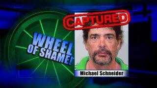 Wheel Of Shame Arrest: April 3rd
