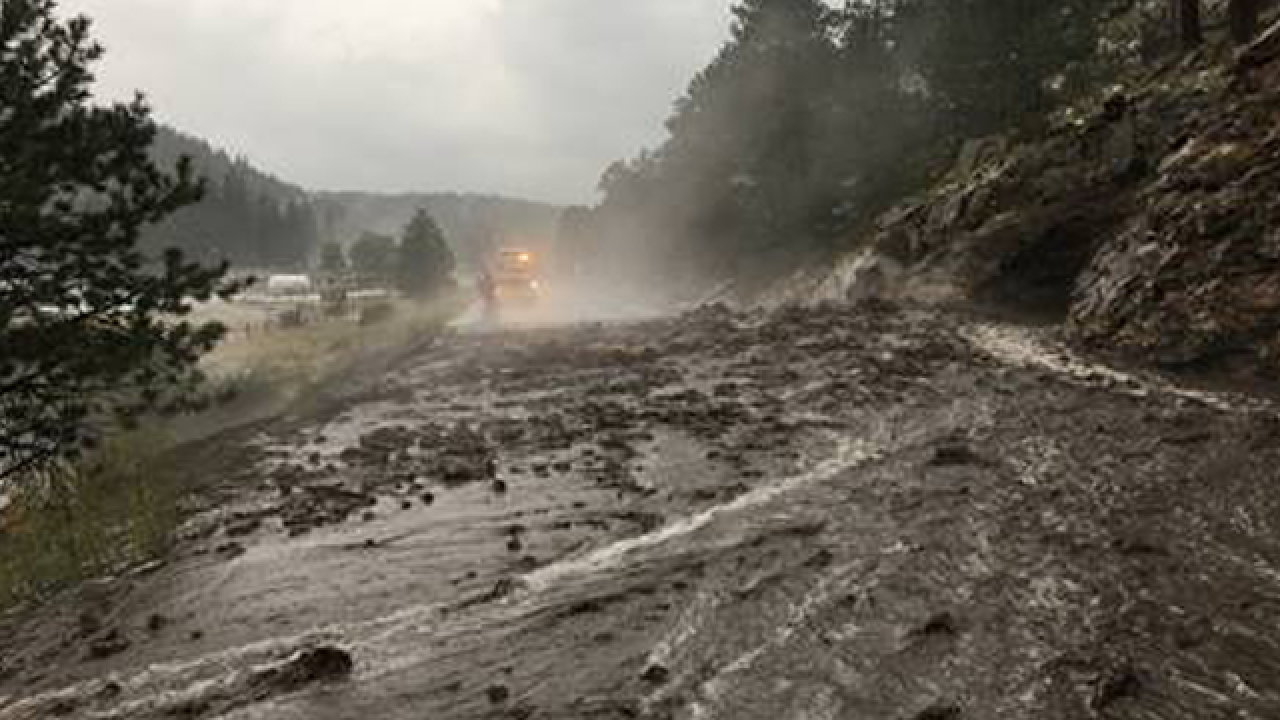 Severe weather causes mudslides, flooding airpor