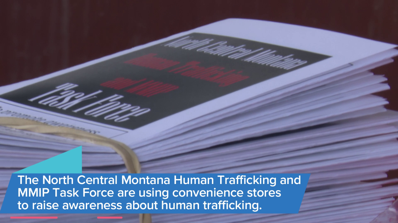 """Red Sand"" project works to raise awareness of human trafficking"
