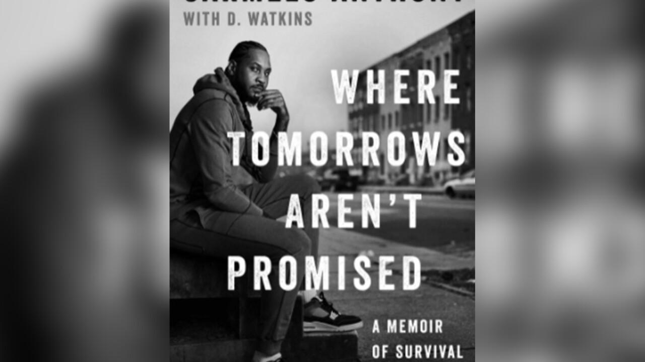 Baltimore author co-writes Carmelo Anthony memoir