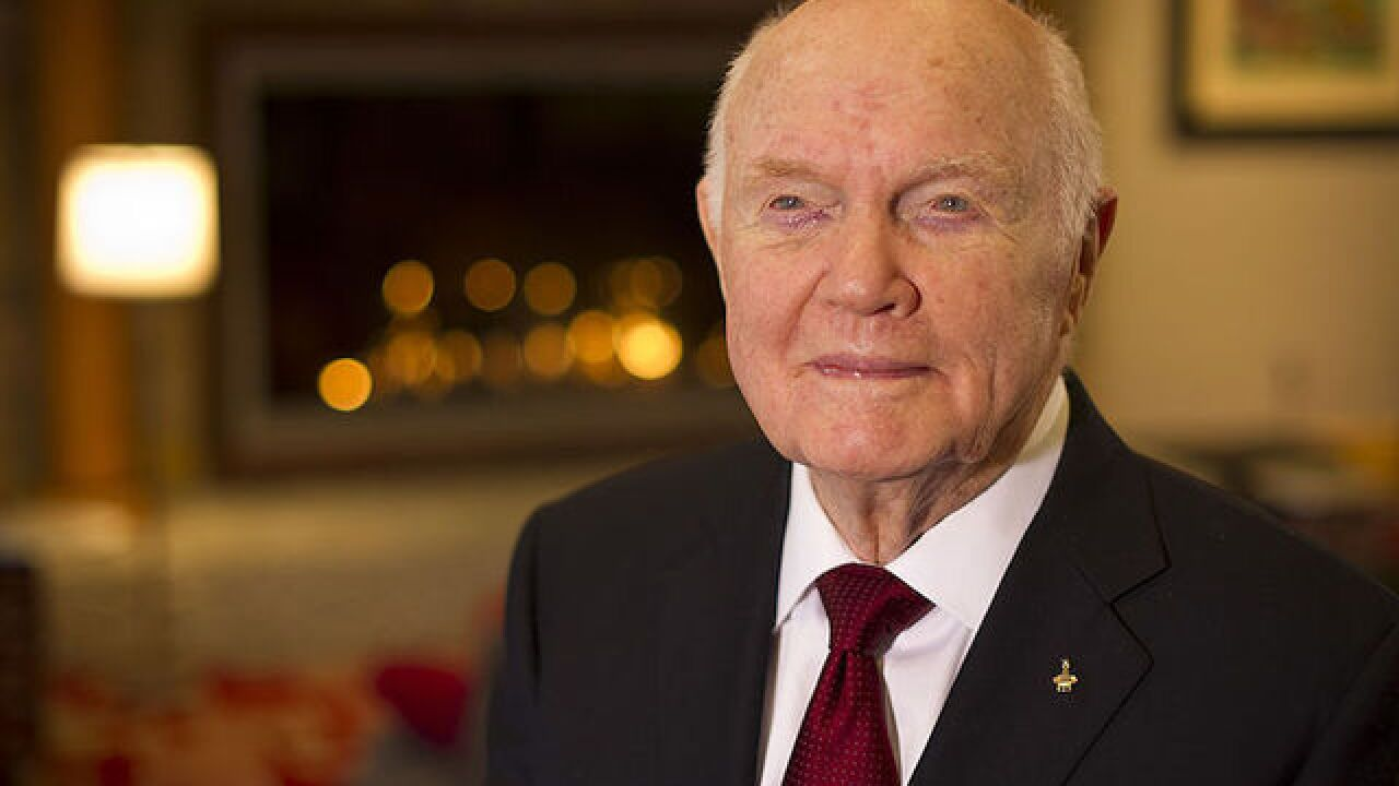 Astronaut John Glenn to have major airport renamed in his honor