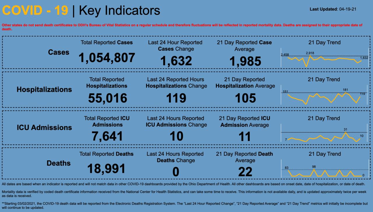 4/19/21 CV Key Indicators