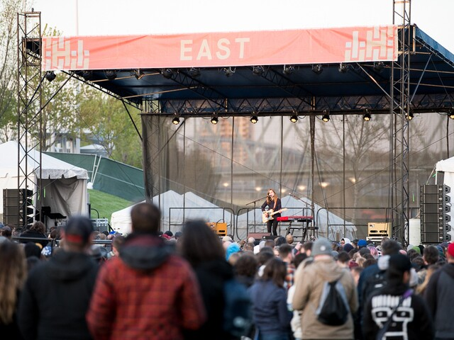 The National hosts Homecoming Music Festival at Smale Riverfront Park