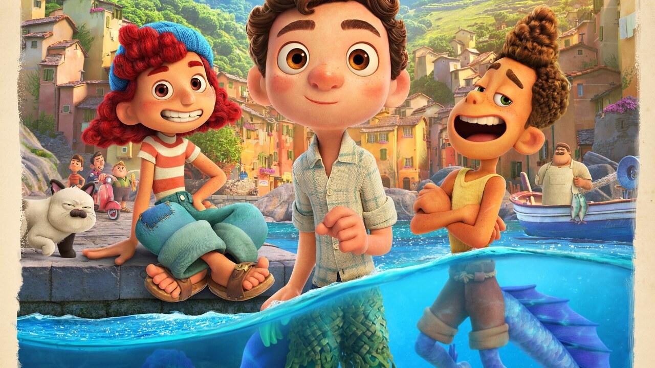 "Pixar's ""Luca"" debuts on Disney+ Friday, June 18. Photo via Disney."