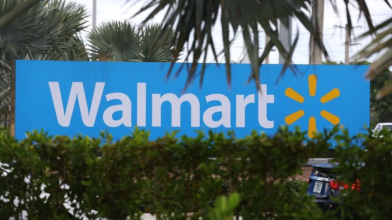 Walmart lures holiday shoppers with parties at its stores.