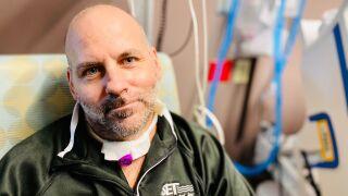Rick Jones, Recovered COVID Patient