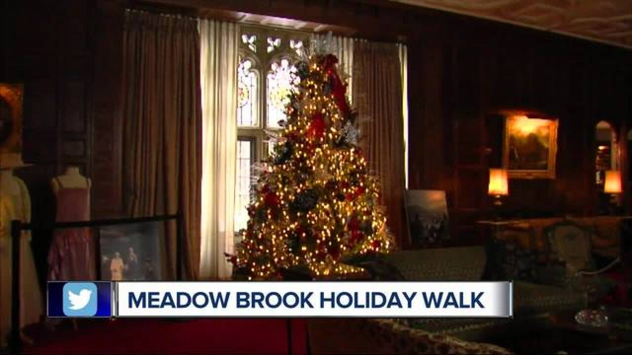 Meadow Brook Holiday Walk Tours