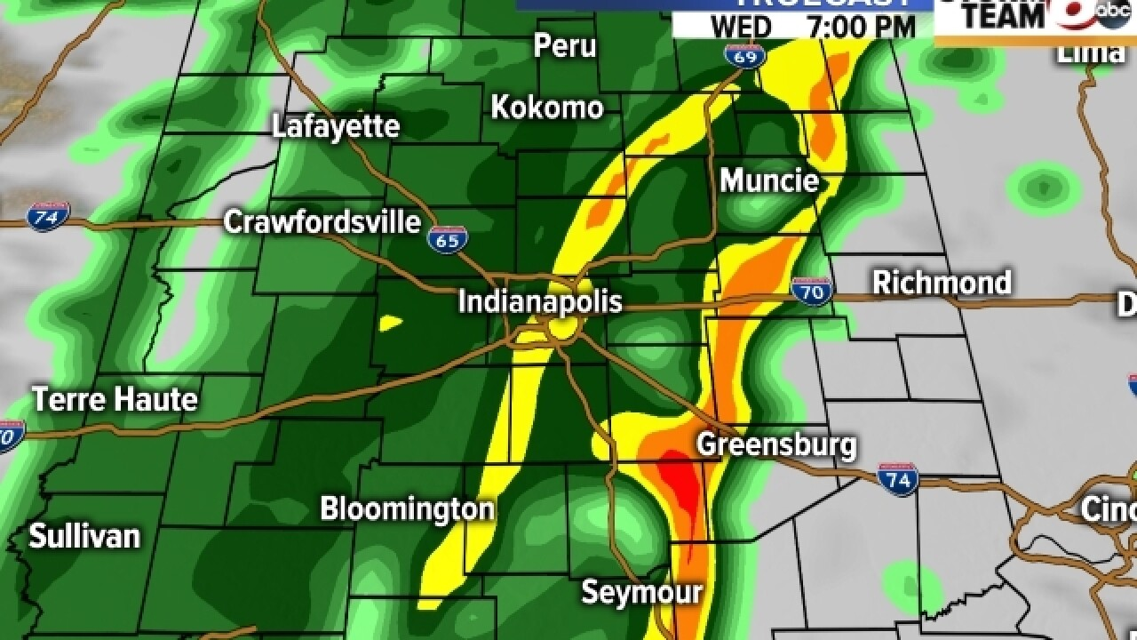 TIMELINE: When will rain hit your area?