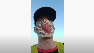 ICU doctor runs 22 miles in mask to show face coverings don't hinder oxygen levels