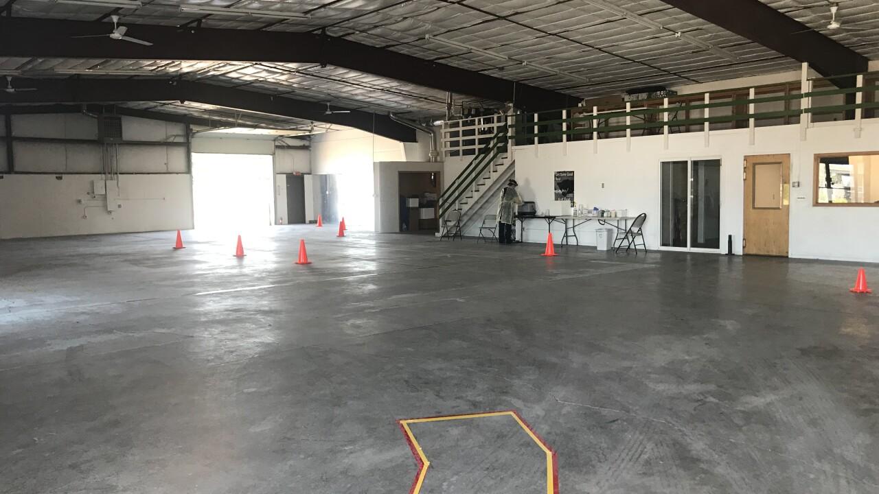 Flynn Lane Drive Thru Entry, View from Warehouse.jpeg