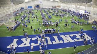 Kentucky Fan Day Football