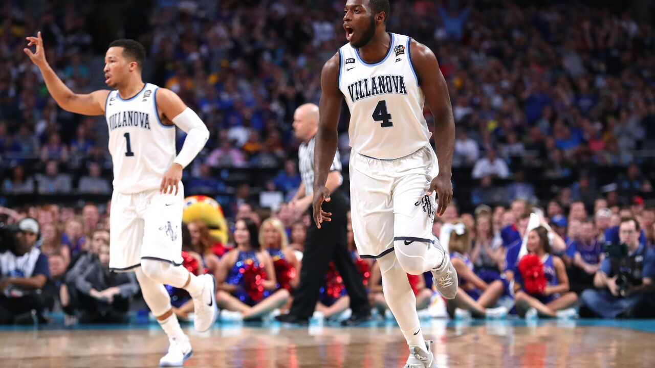 Villanova routs Kansas in Final Four finale 95-79, will meet Michigan in NCAA Championship game