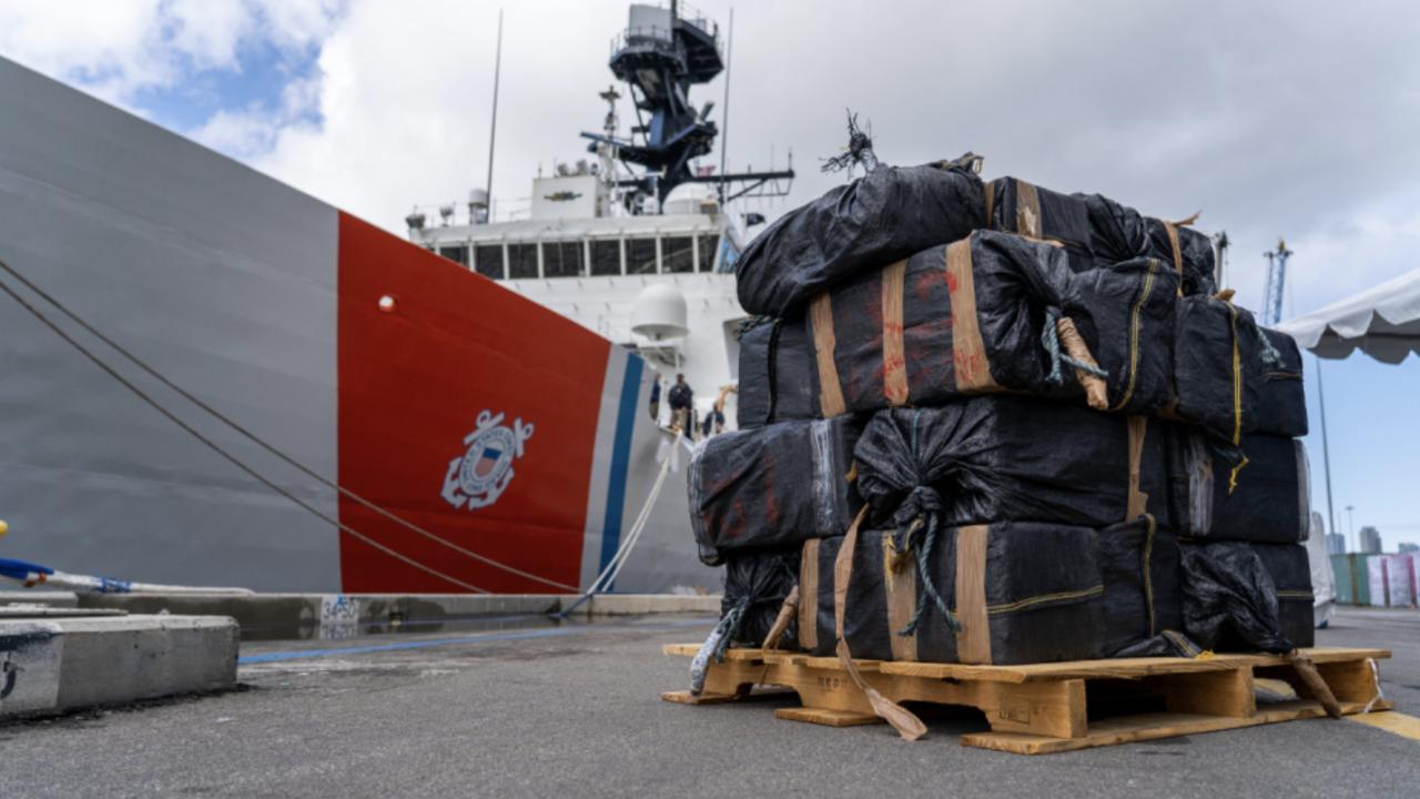 Coast Guard offload drugs 3-10