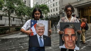 Trump promotes Epstein-Clintons conspiracy theory, the latest in a pattern of baseless claims spread by President