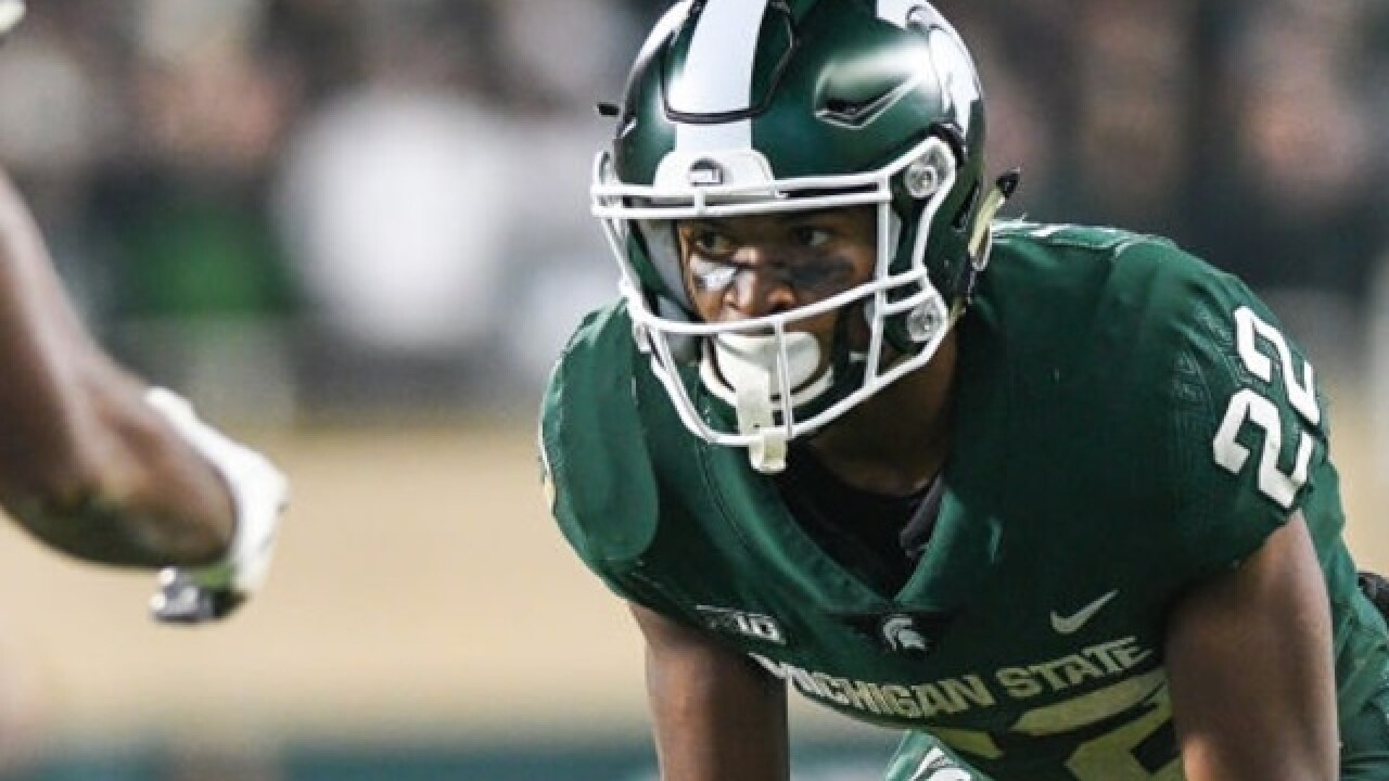 Michigan State CB Josiah Scott expected to miss two months